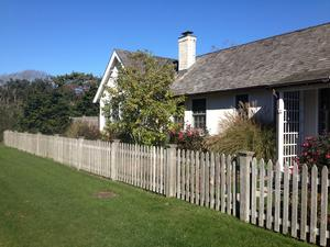 Our classic picket fencing, a compliment to just about any home style.